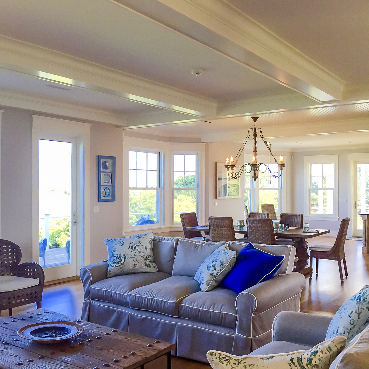 Oceanfront Cottage Living Room 2 by HDS Architecture