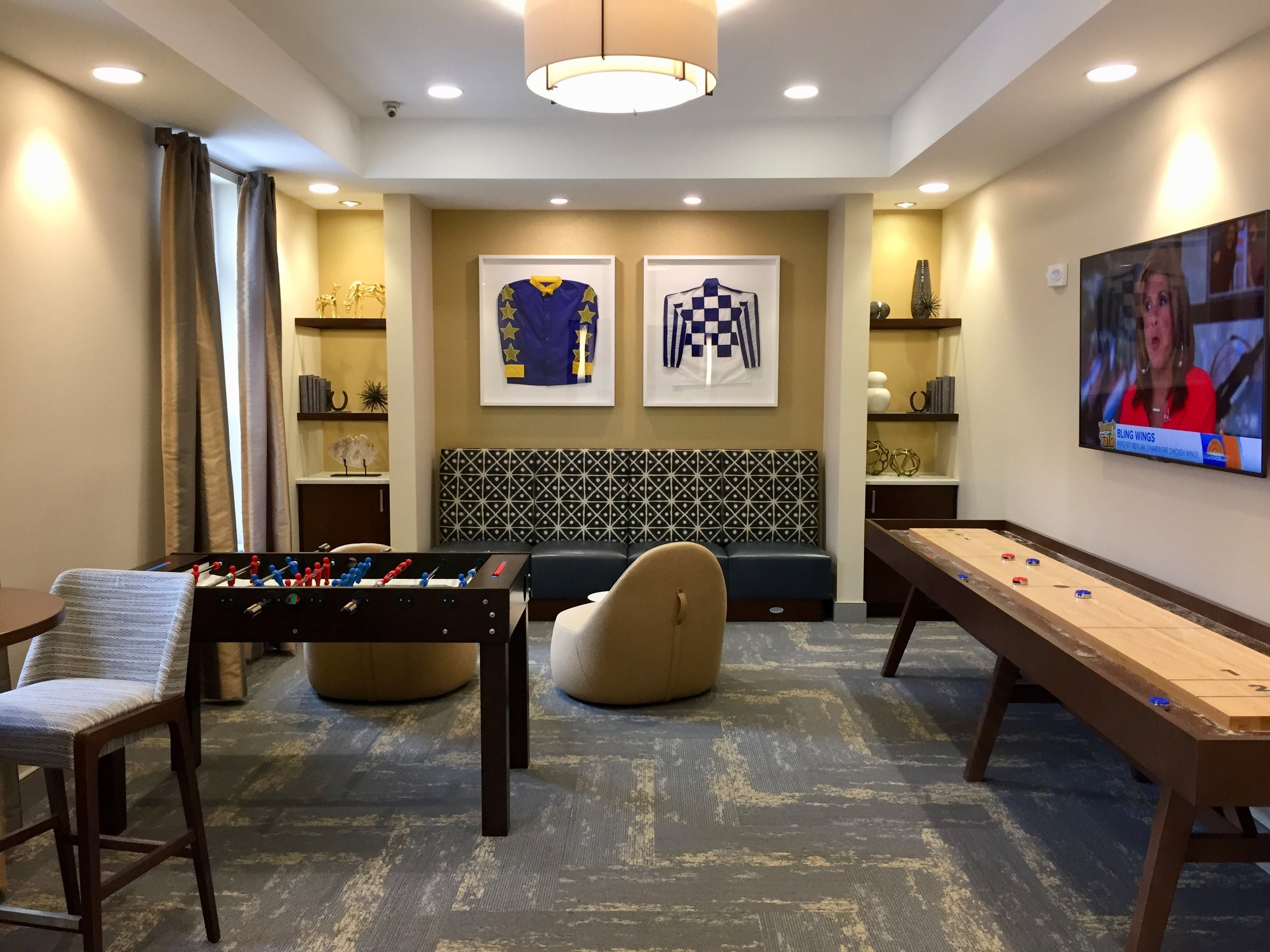 Clubhouse Game Room by HDS Architecture