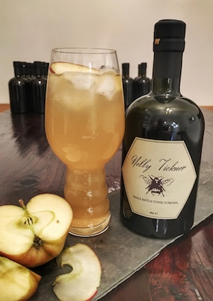 Ginger beer and Nelly Tickner, went down very well indeed!