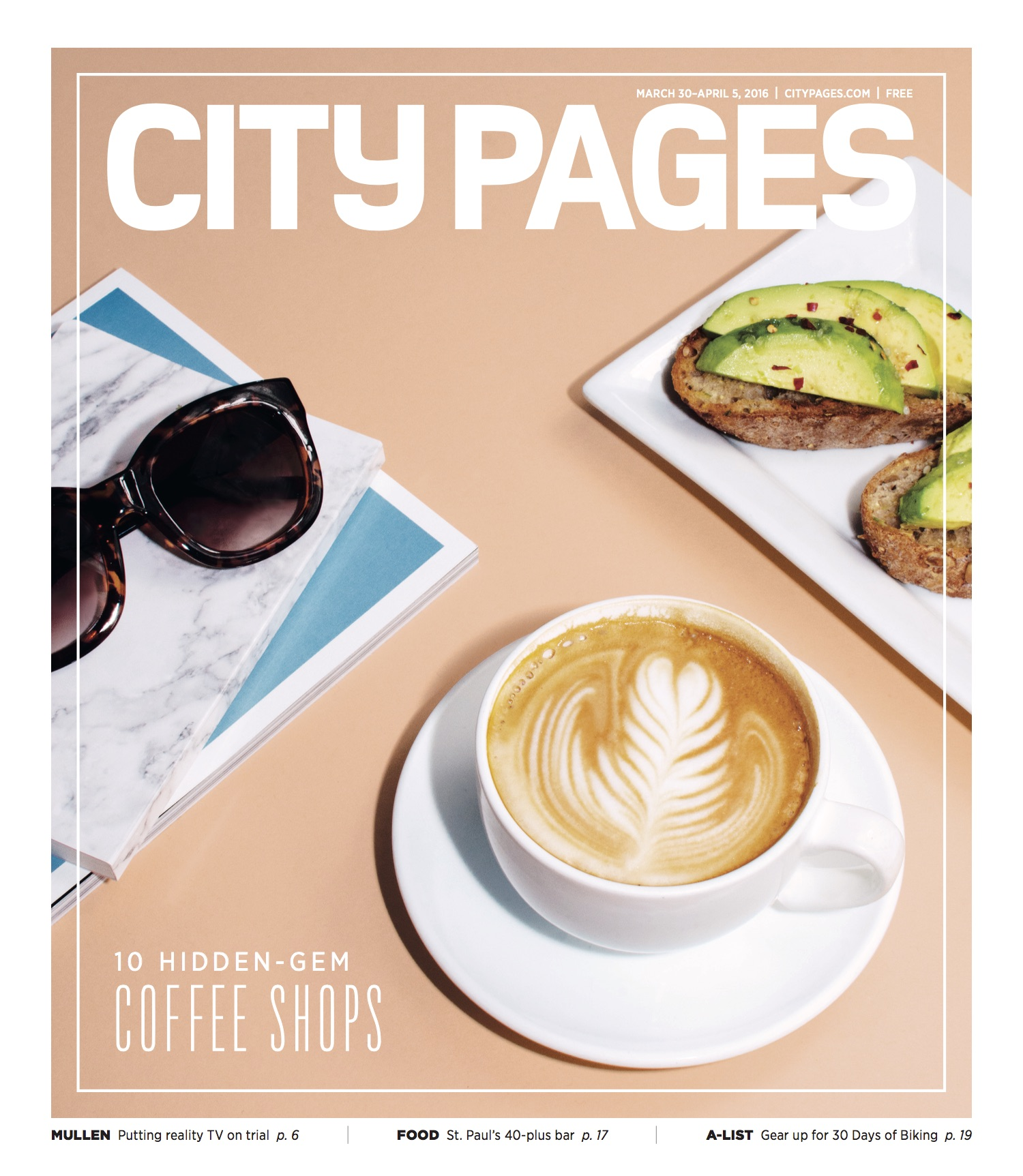 City Pages - March 2016 Cover Story
