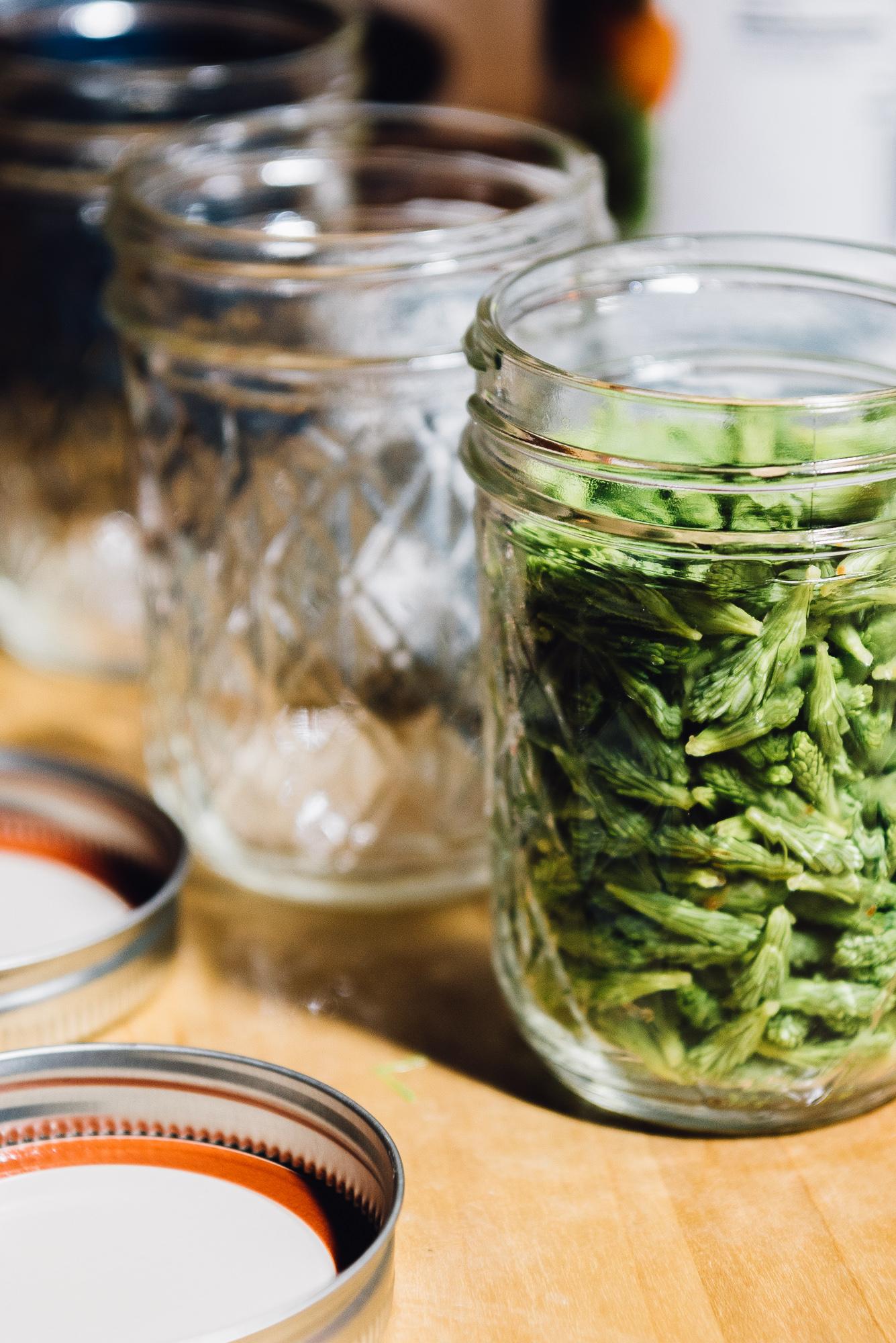Preparing to pickle