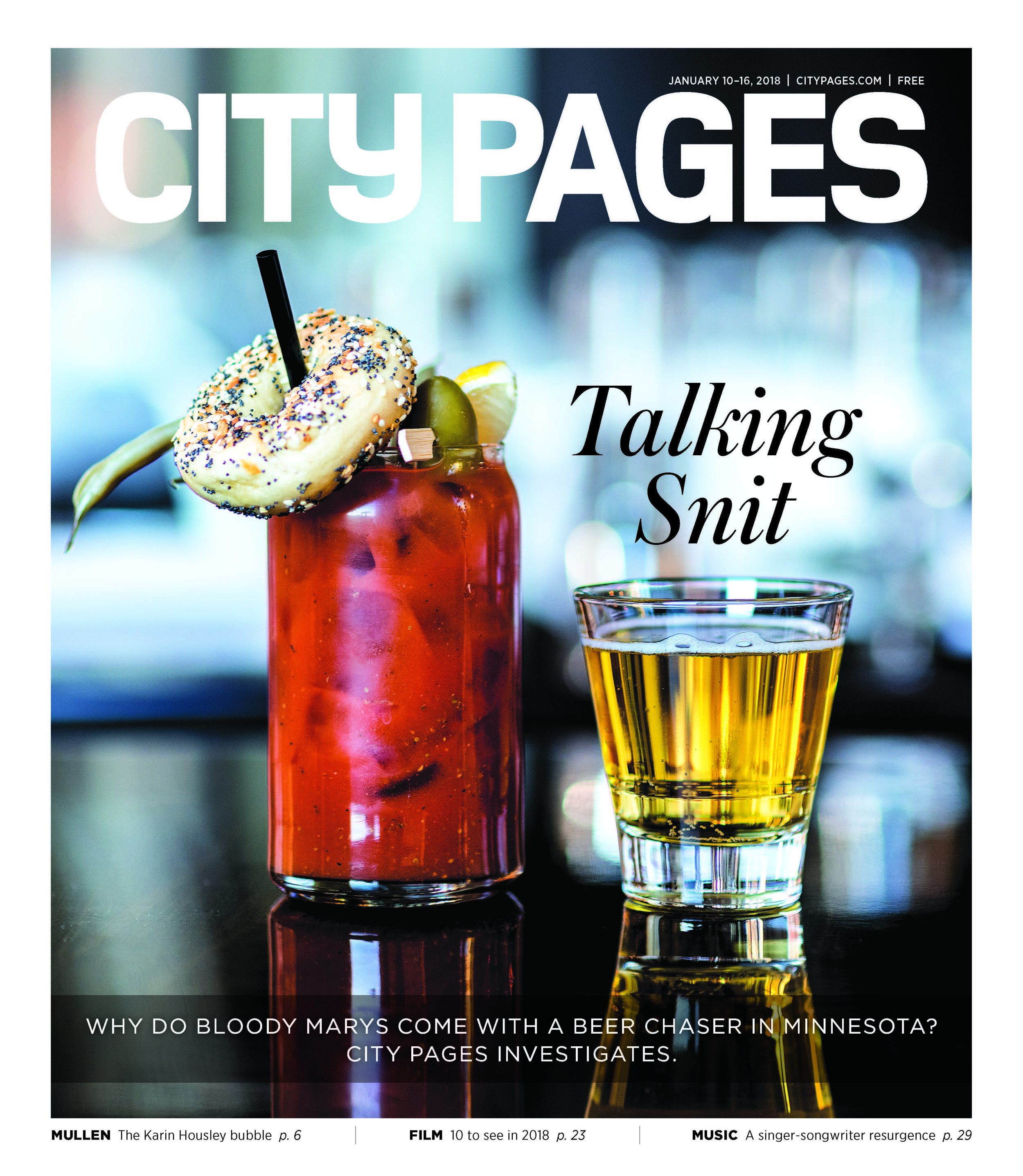City Pages - Jan. 2018 Cover Story
