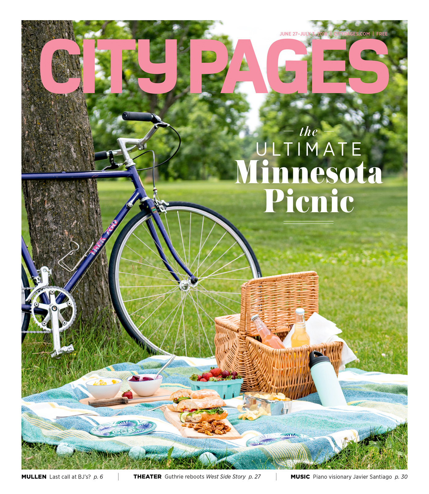 City Pages - Summer 2018 Cover story