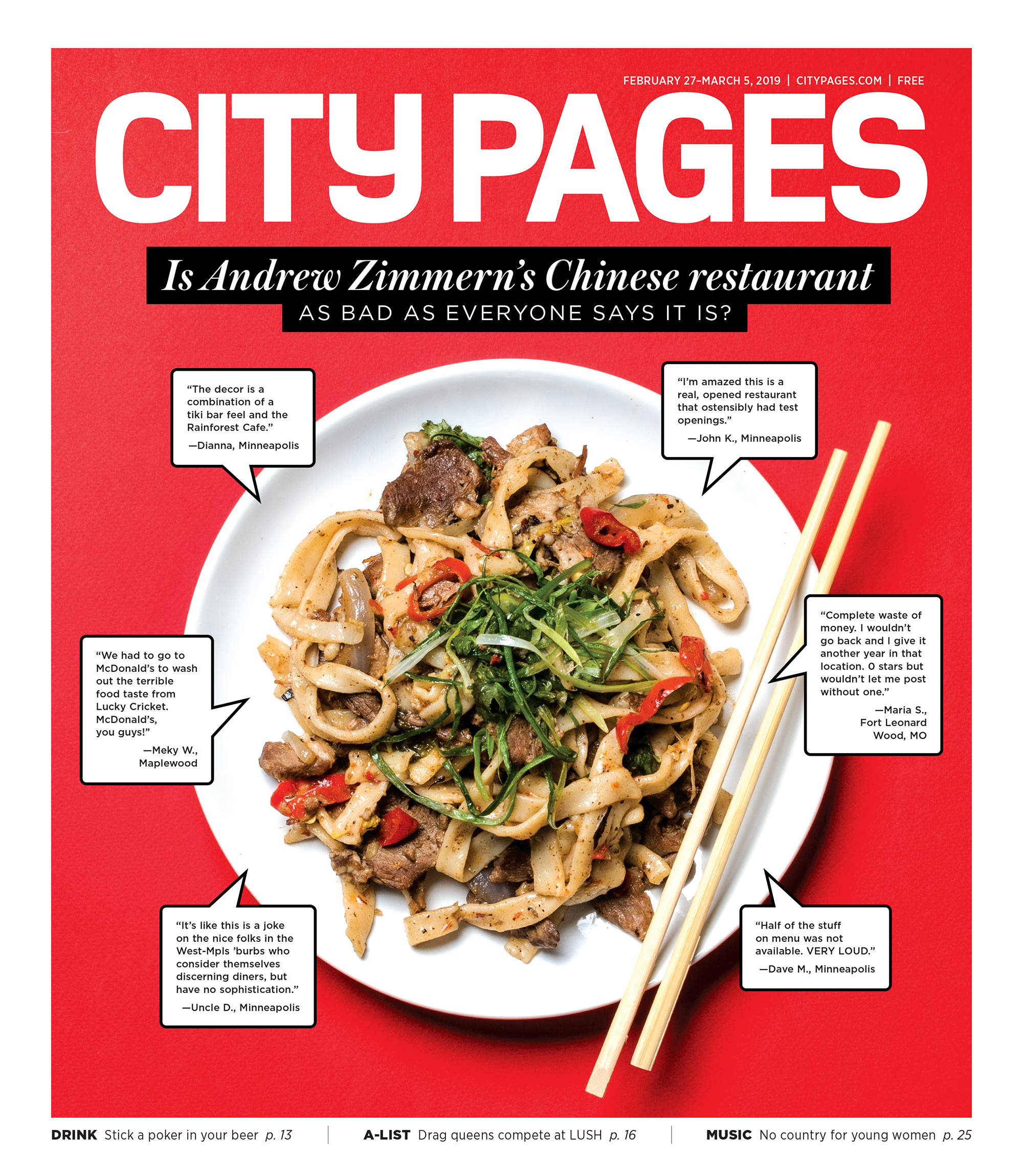 City Pages - March 2019 Cover Story