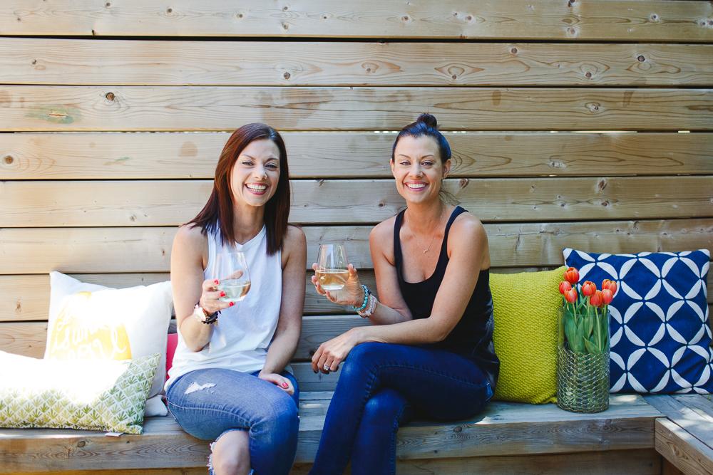 Lindsay (left)+ Danielle (right)