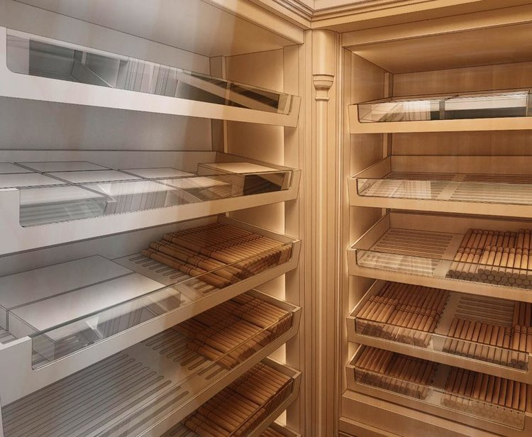 The bespoke cigar humidors we design and make are the result of thorough research and are made using only quality materials; they are functional and feature innovations unlikely to be found in other humidors.