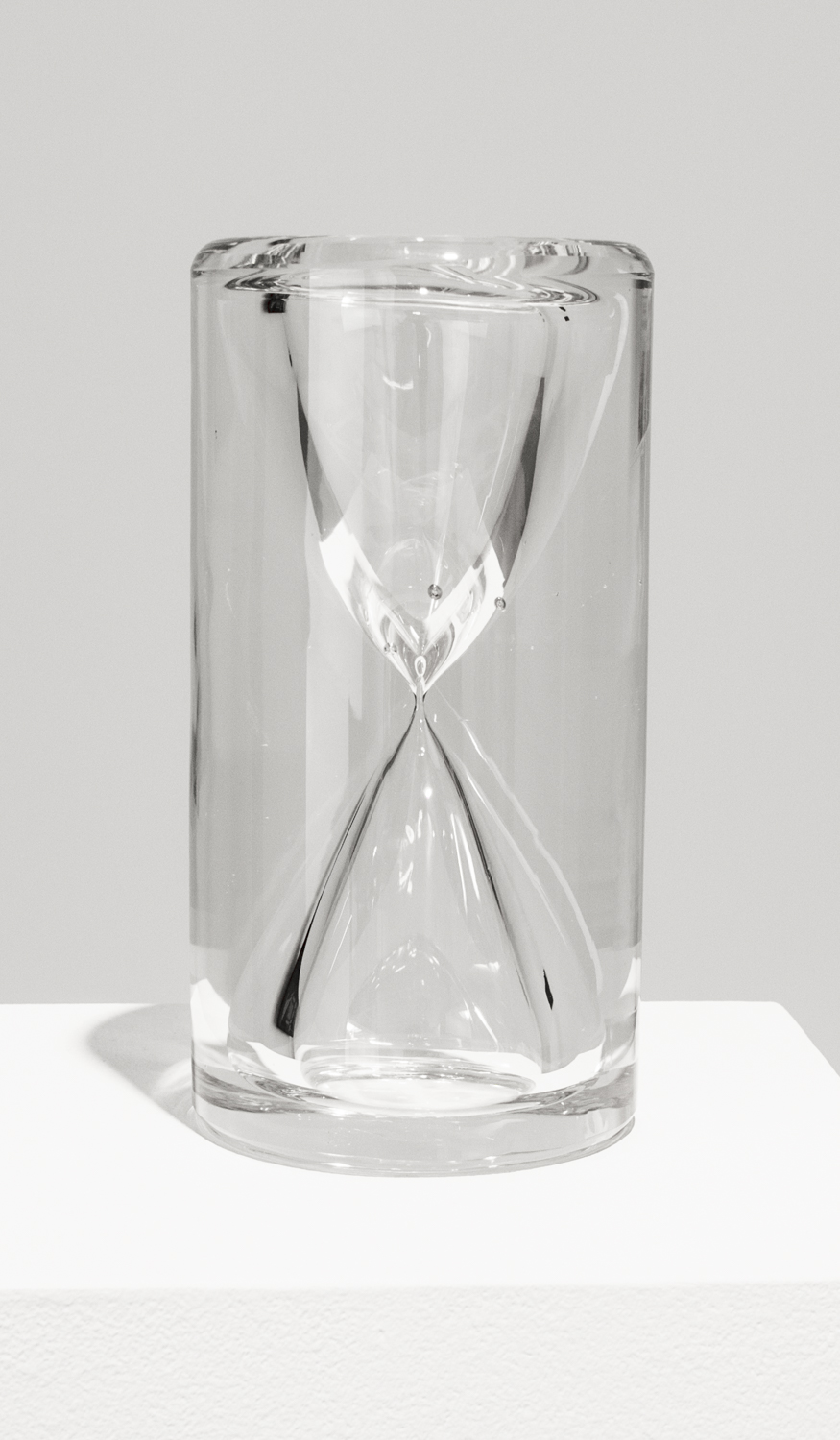 Hourglass , 2013, 6.6 x 3.5 inches, glass