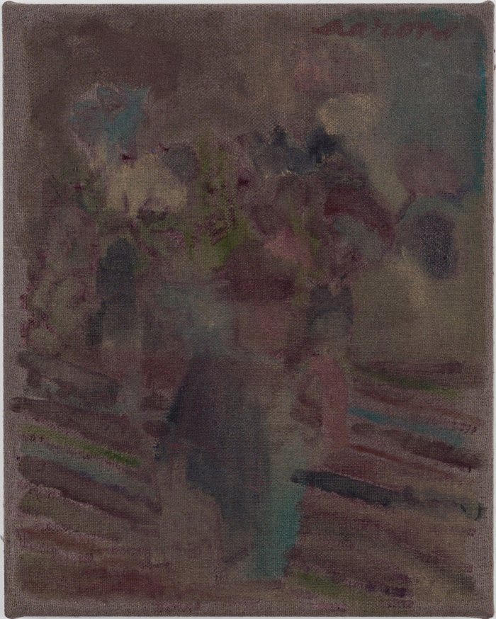 Aaron Weldon,  Bouquet (Sunday),  2010, 12 x 9.5 inches, oil on linen