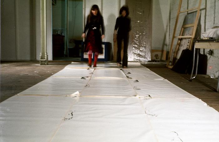 Suzy Lake, Behavioural Prints , studio performance 1972; printed 2013, 21.25 x 31.25 inches framed, chromogenic print, edition of 5