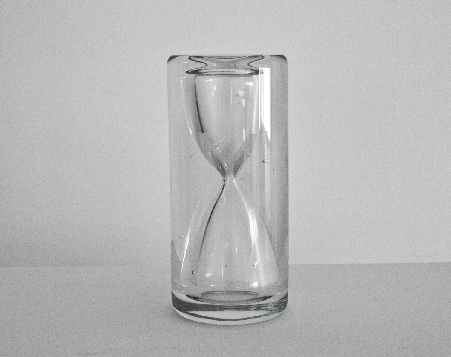 And so on to infinity,  2011, 8x 3.5 in, glass