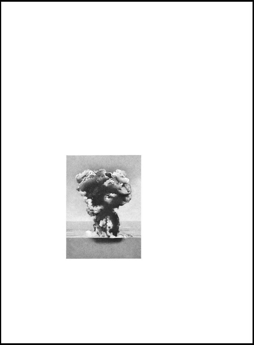 Explosion at Sea,  2010, Image Size: 9 x 6 1/2 inches, Paper Size: 30 x 22 inches, graphite on handmade paper