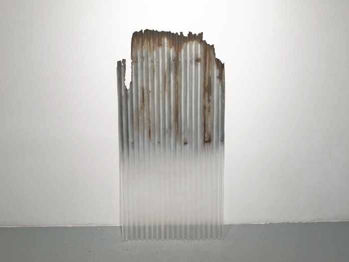 Totan , 2010, 51.5 x 26 x 0.5 inches, paint on resin, unique