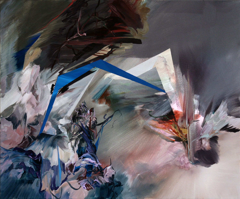 Brambler, 2010, 30x36 inches, acrylic on canvas