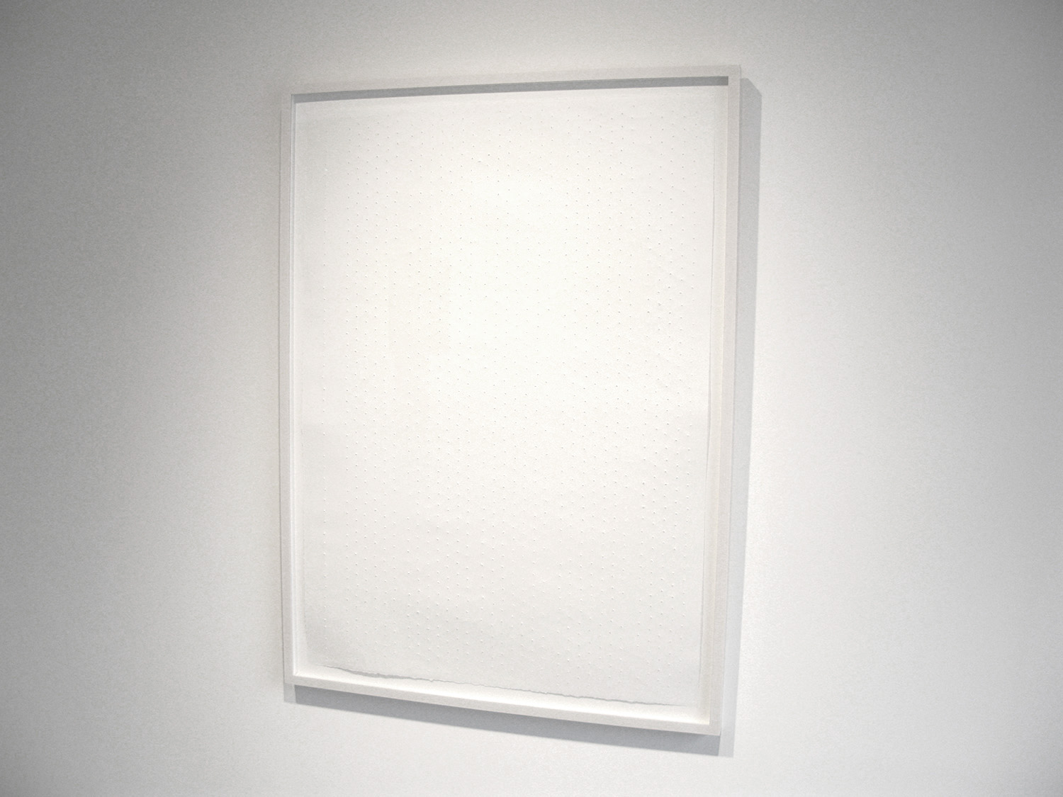 Artist's Proof, 2007, stonehenge paper, 45 x33 inches