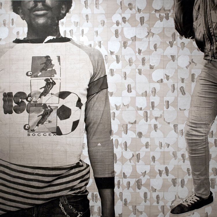 Museum Exhibition   Sandra Brewster as part of   Position As Desired: Exploring African Canadian Identity / Photographs from the Wedge Collection    curated by   Kenneth Montague    Windsor Art Gallery  February 11 – May 7, 2017
