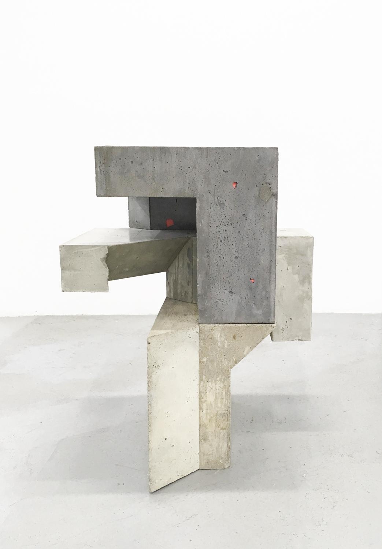 Jen Aitken, Galomindt , 2016, series: Numa , 32 x 26 x 23 inches, concrete