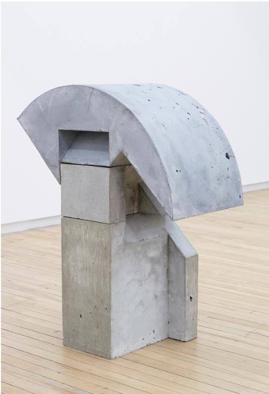 Balopine , 2015, 36 x 15 x 28 inches, concrete