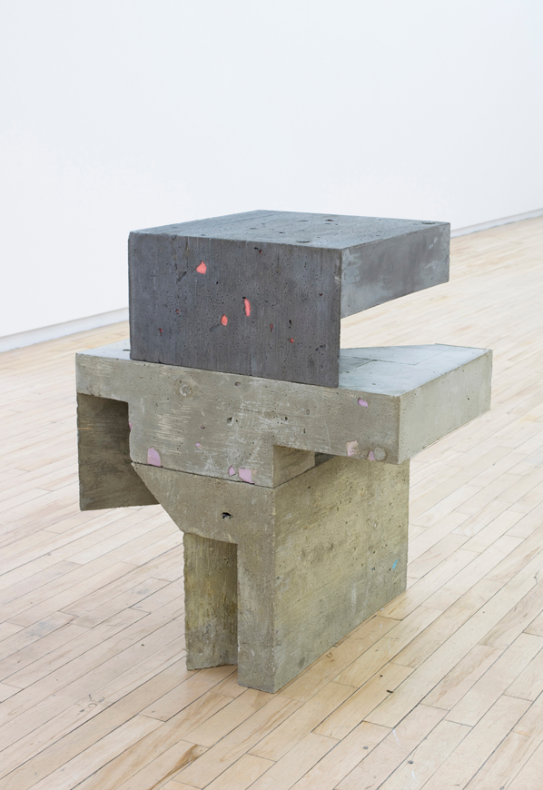 Galomindt , 2016, 32 x 26 x 23 inches, concrete