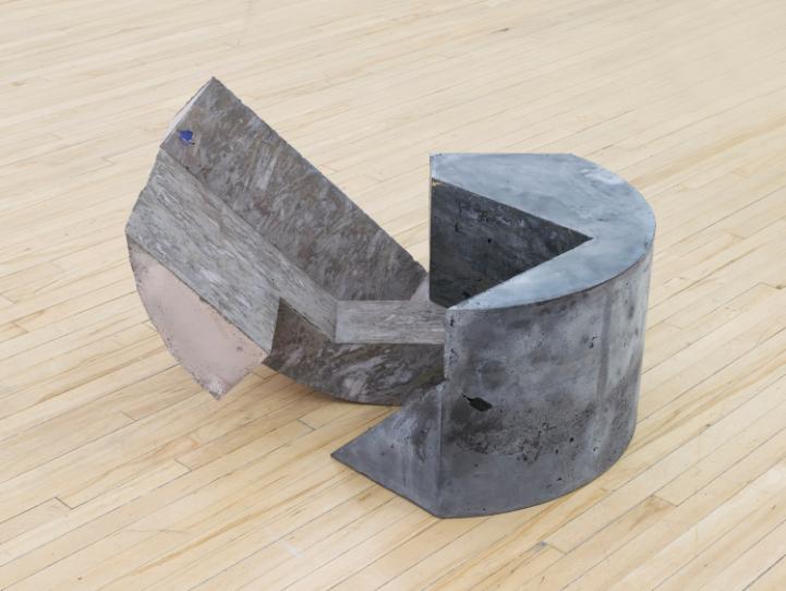 Oppik , 2016, 19 x 31 x 23 inches, concrete