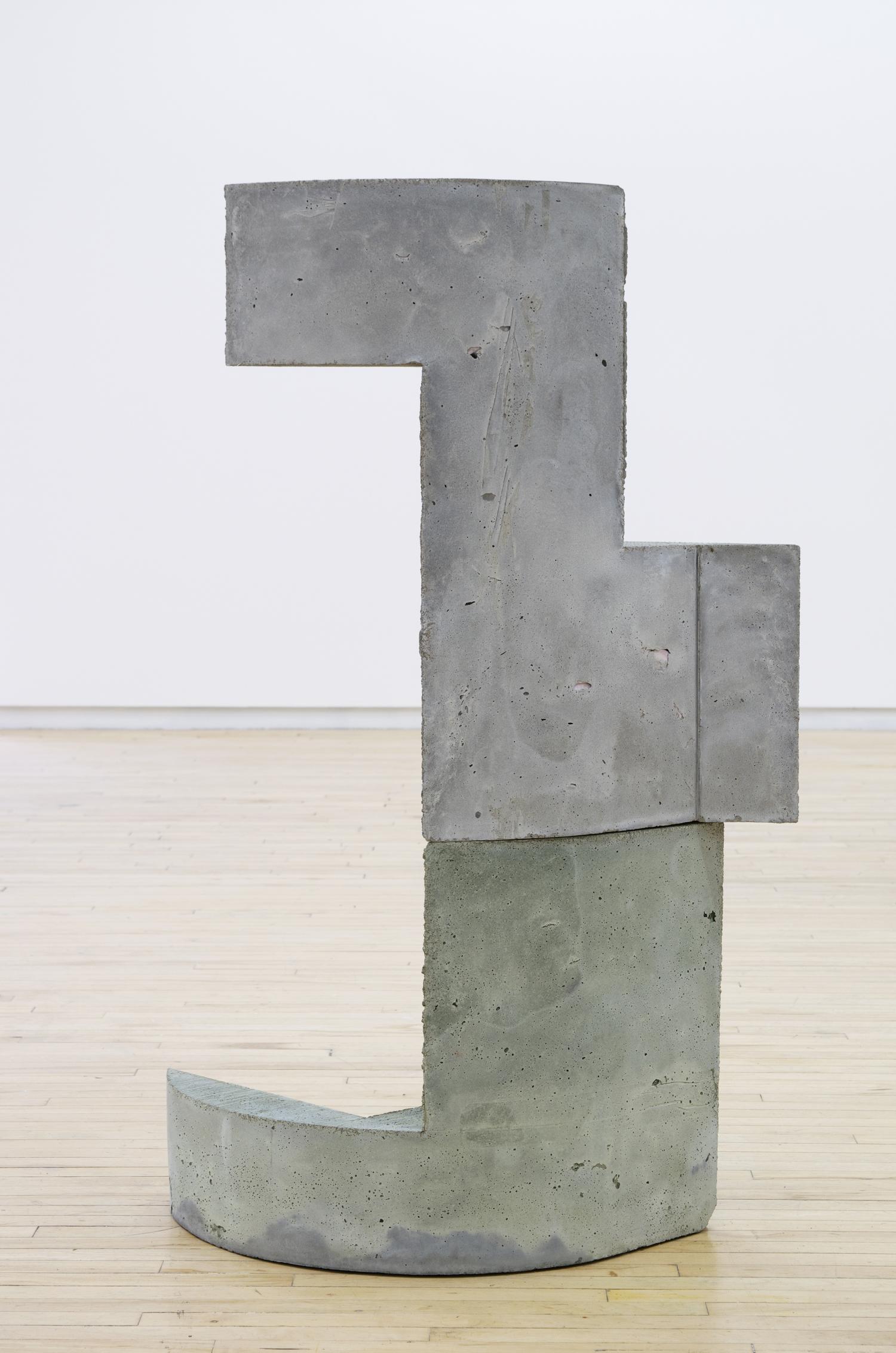 Yna , 2016, 45 x 28 x 12 inches, concrete