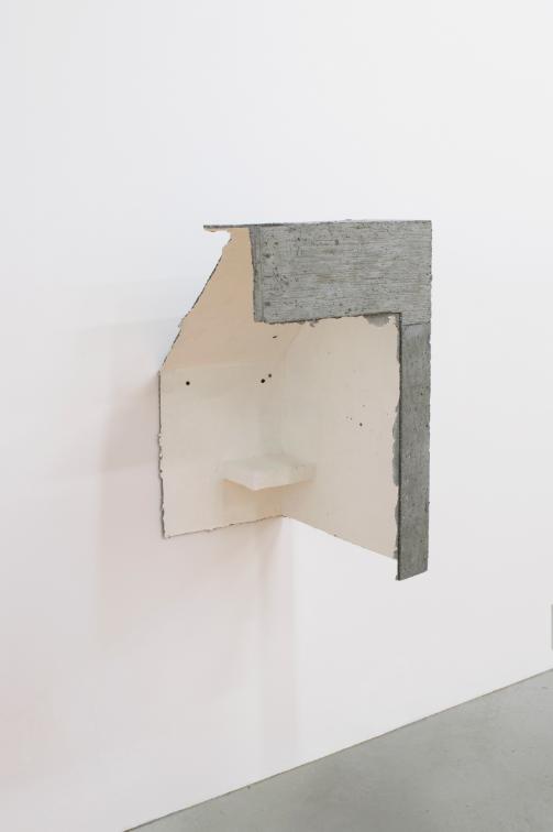 Limik , 2017, 26 x 18 x 15 inches, papier mache, concrete, gesso