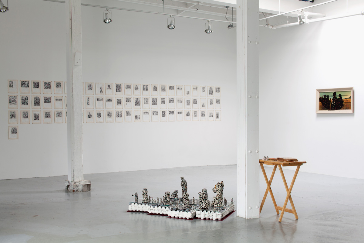 End of the Century (install) , 2013, exhibition at Georgia Scherman Projects