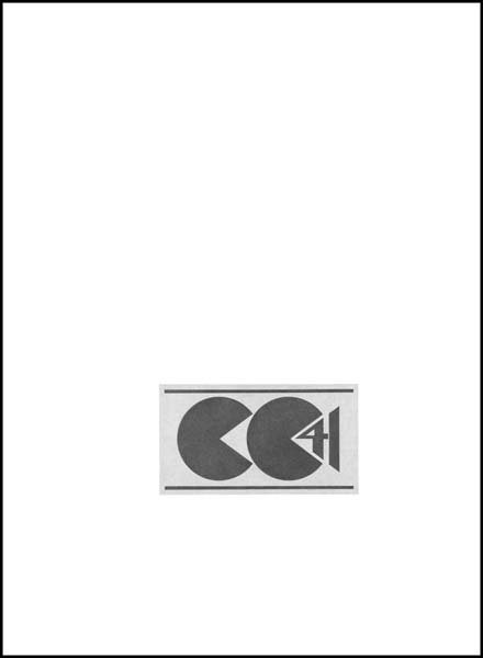 CC41 Utility Mark,  2010, Image Size: 5 x 9 inches, Paper Size: 30 x 22 inches graphite on handmade paper