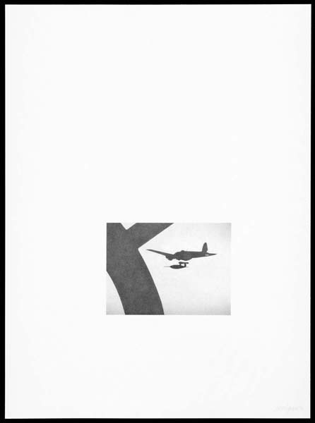 Doodlebug (V-1 Flying Bomb),  2011, Image Size: 6 11/16 x 9 inches, Paper Size: 30 x 22 inches, graphite on handmade paper