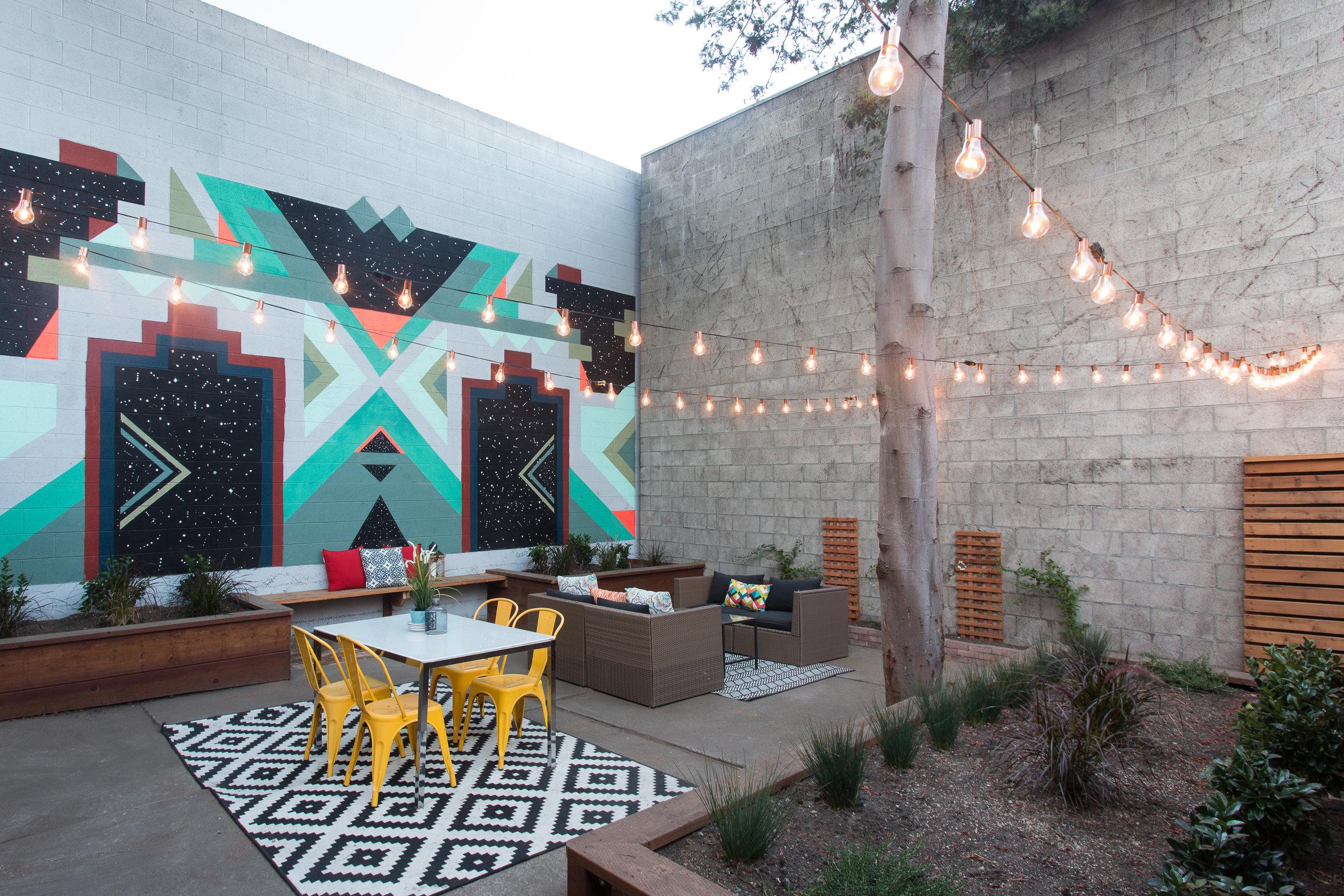 Residential Mural Oakland