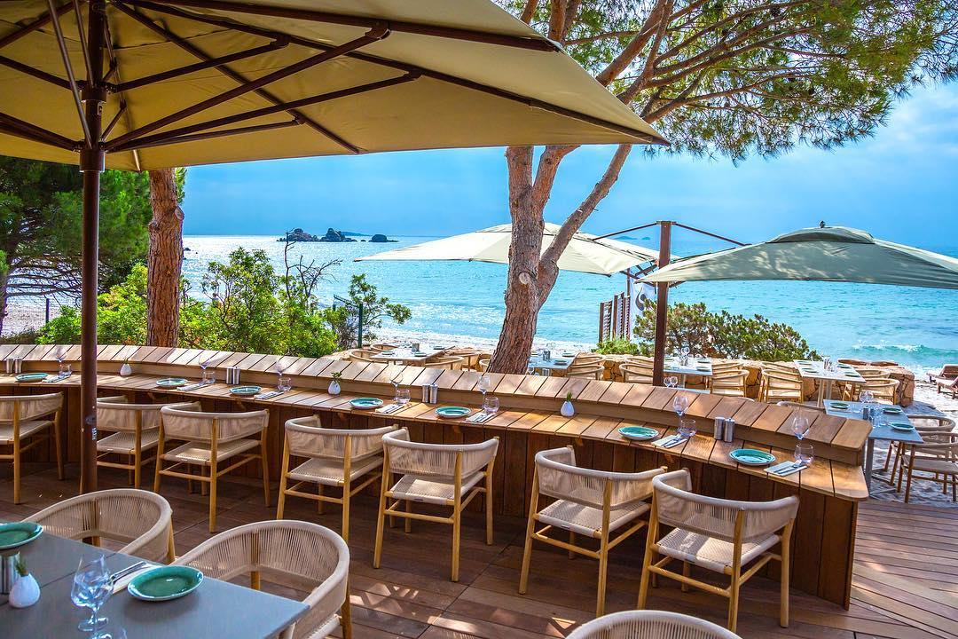 size 40 b8798 8640c Da Mare by Sea Lounge à Porto Vecchio, plage de Palombaggia ...