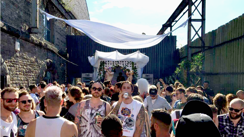 Spot the female's in the crowd  Source: Motion Bristol