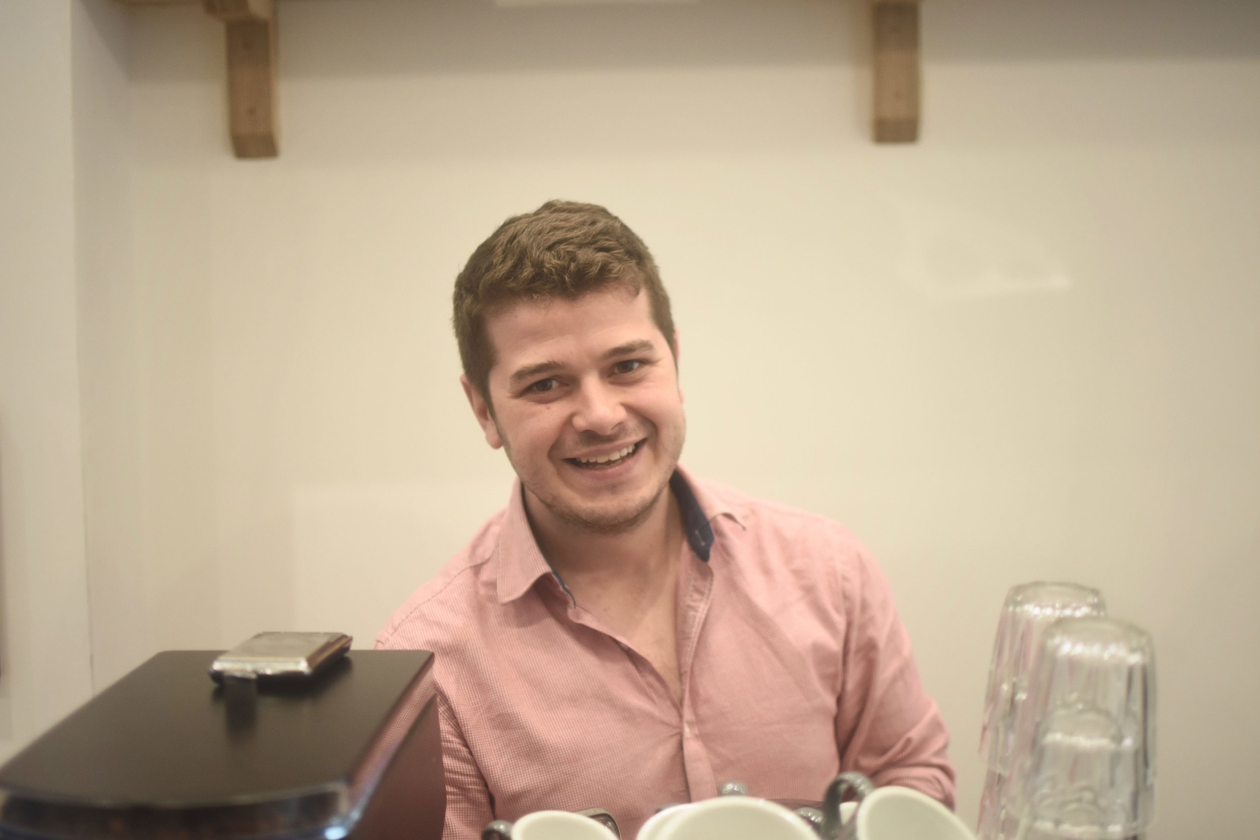 Dan Williams, Coffee connoisseur + Beer lover