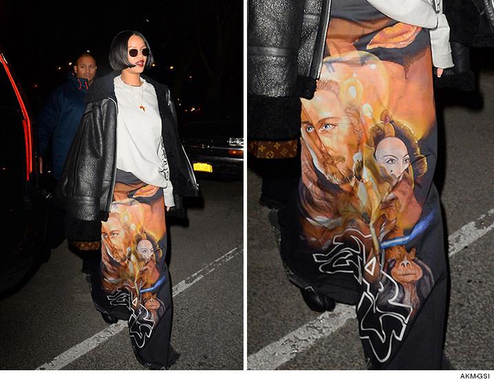 Rihanna in Vetements SS16