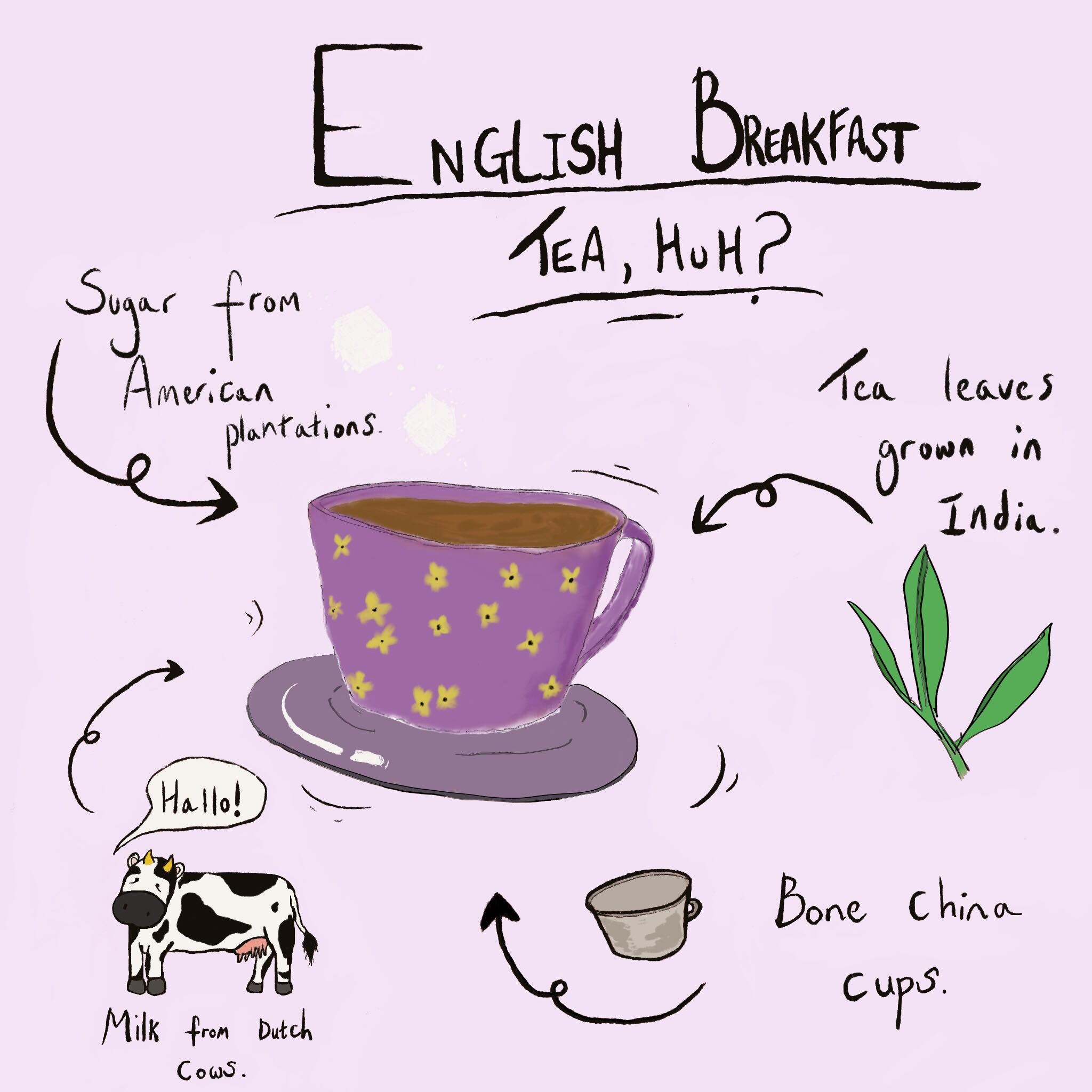 """English Breakfast Tea, huh?"" by Larissa Lebe"