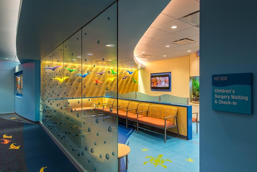 CMHH Pediatric Waiting Room - Houston, TX — Curry Boudreaux Architects