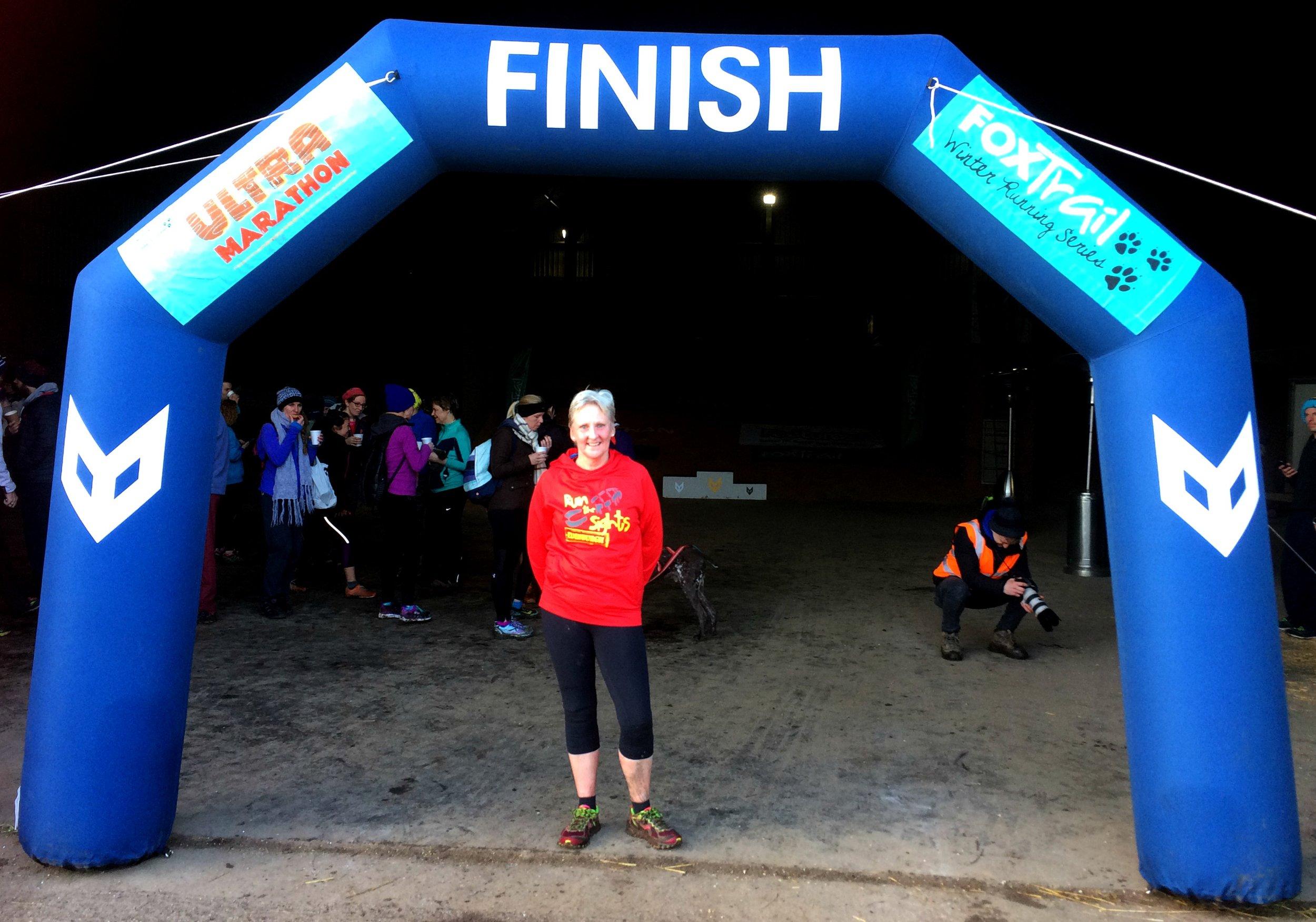 Avril standing proud following a fabulous run