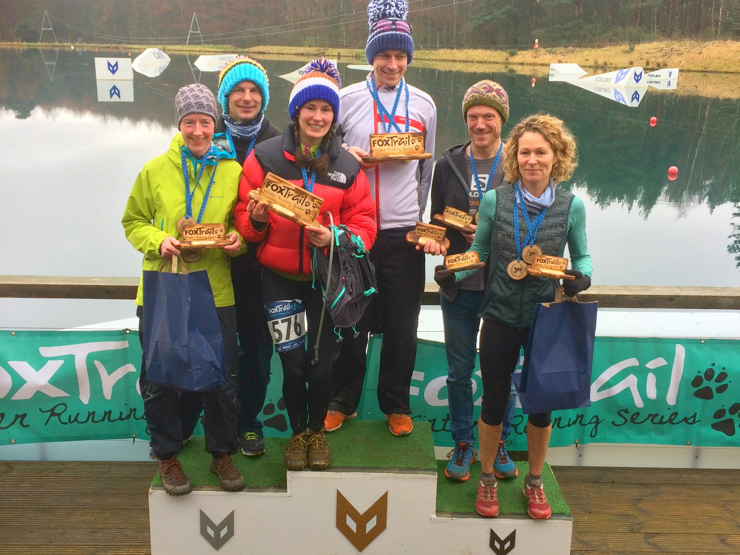 The Foxtrail Winter Running Series series winners