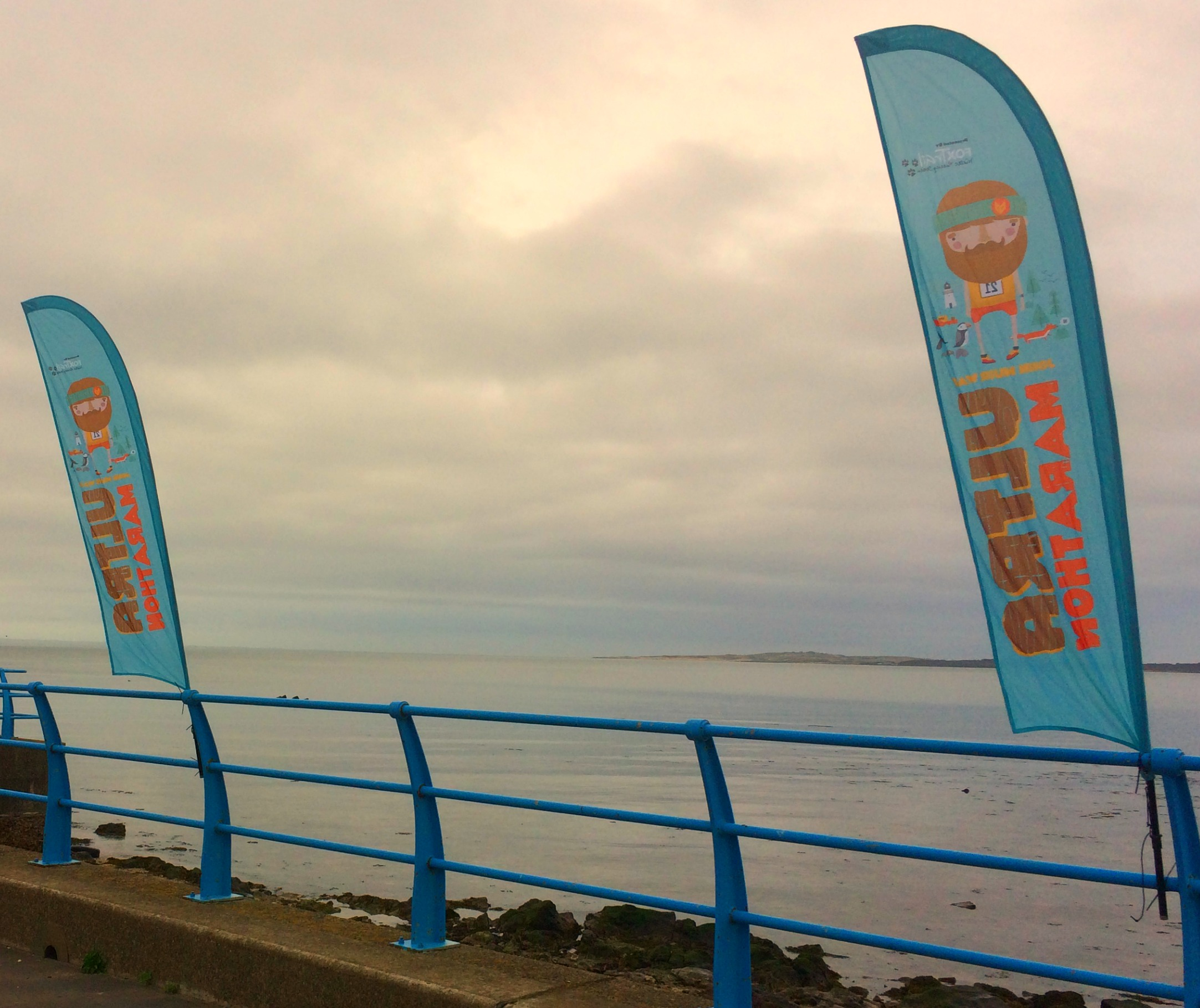 Tranquil views at the start