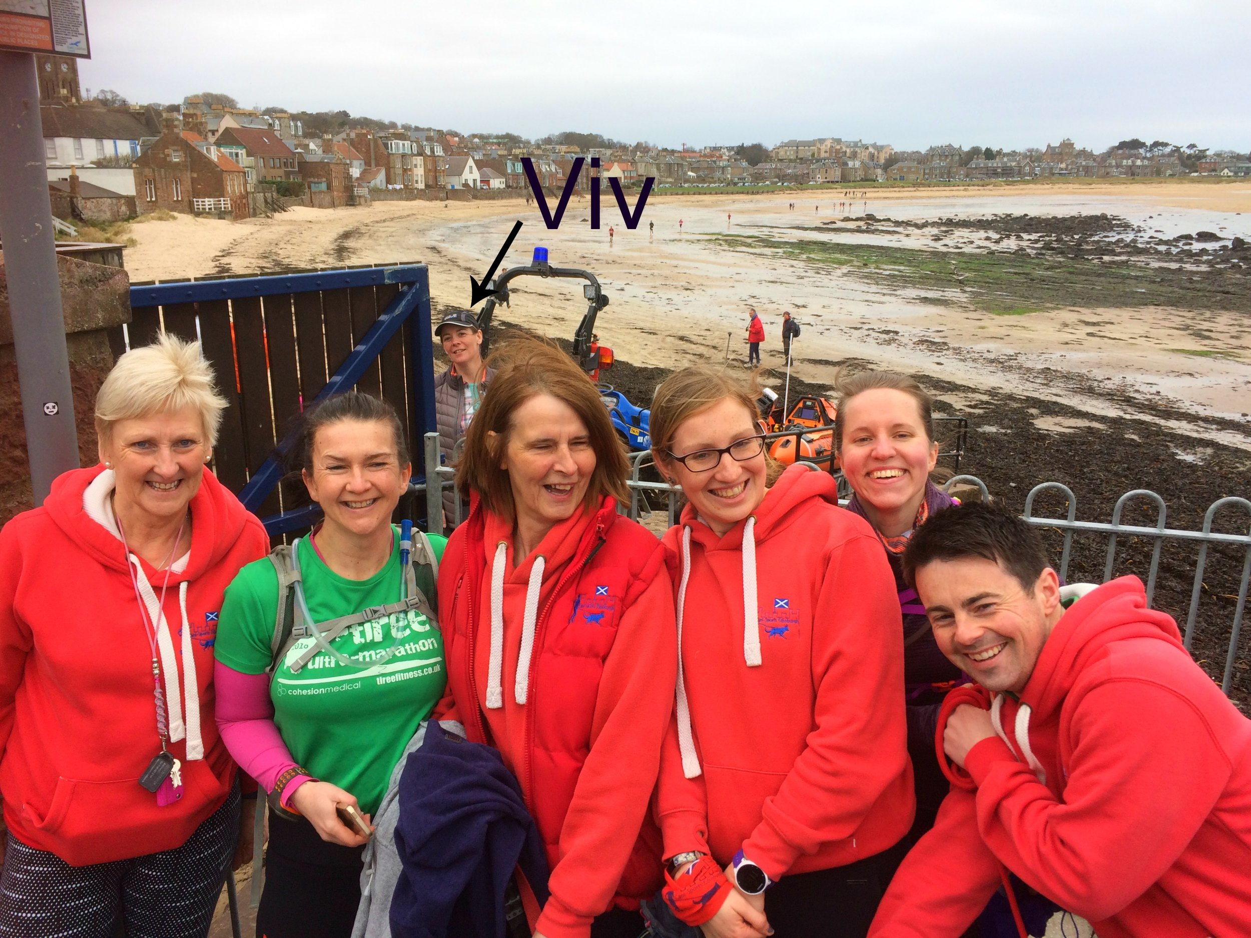 The CSE crew; Avril,Jill, Susan, Jenny, Jenny and Lee and not forgetting Viv at the back