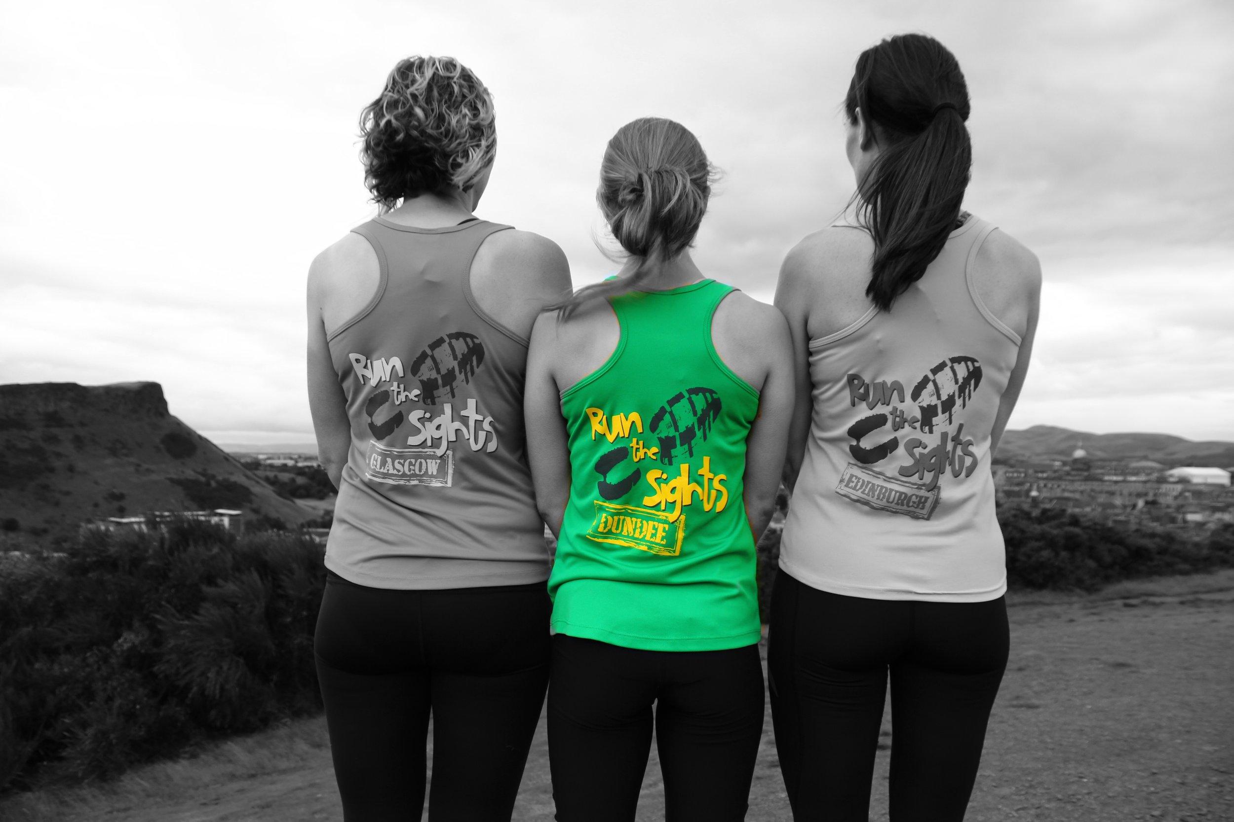 The 3 Run the Sights muskateers