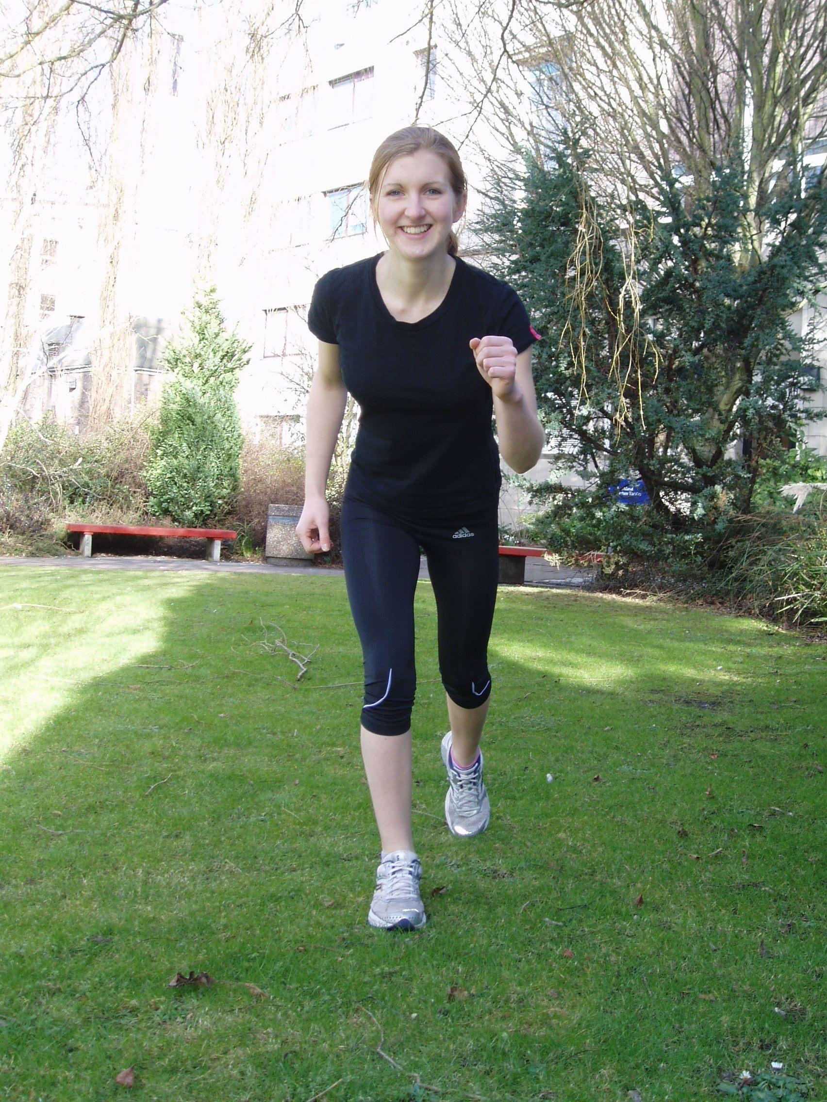 Running makes me smile