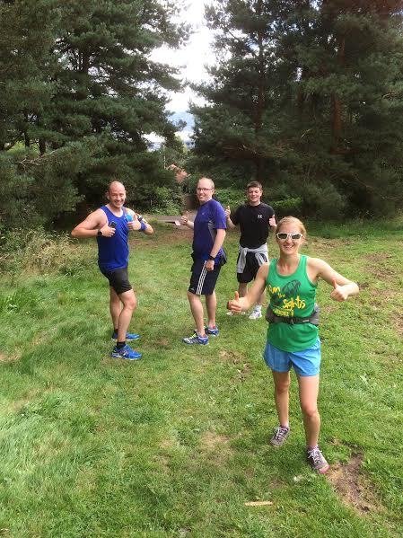 I love sharing my love of running with various running ventures, including leading guided running tours in Dundee, with Run the Sights.