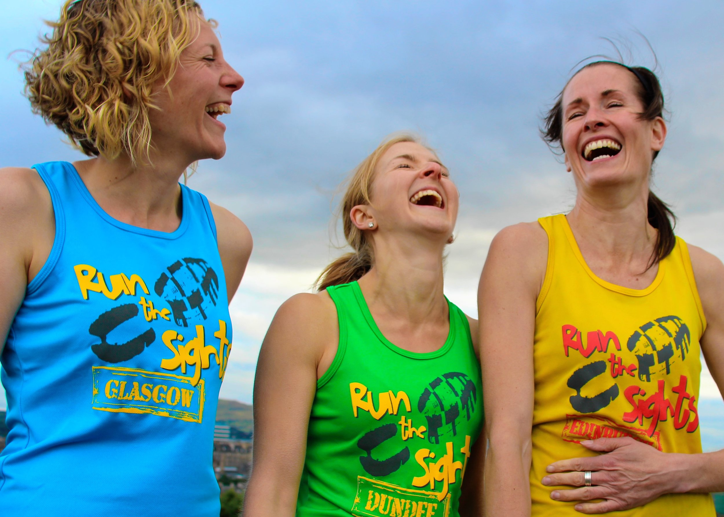 Running is a journey of laughter, friendship and adventure