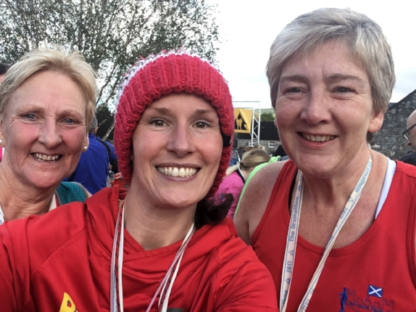 Avril, me and Gail with post race smiles and elation