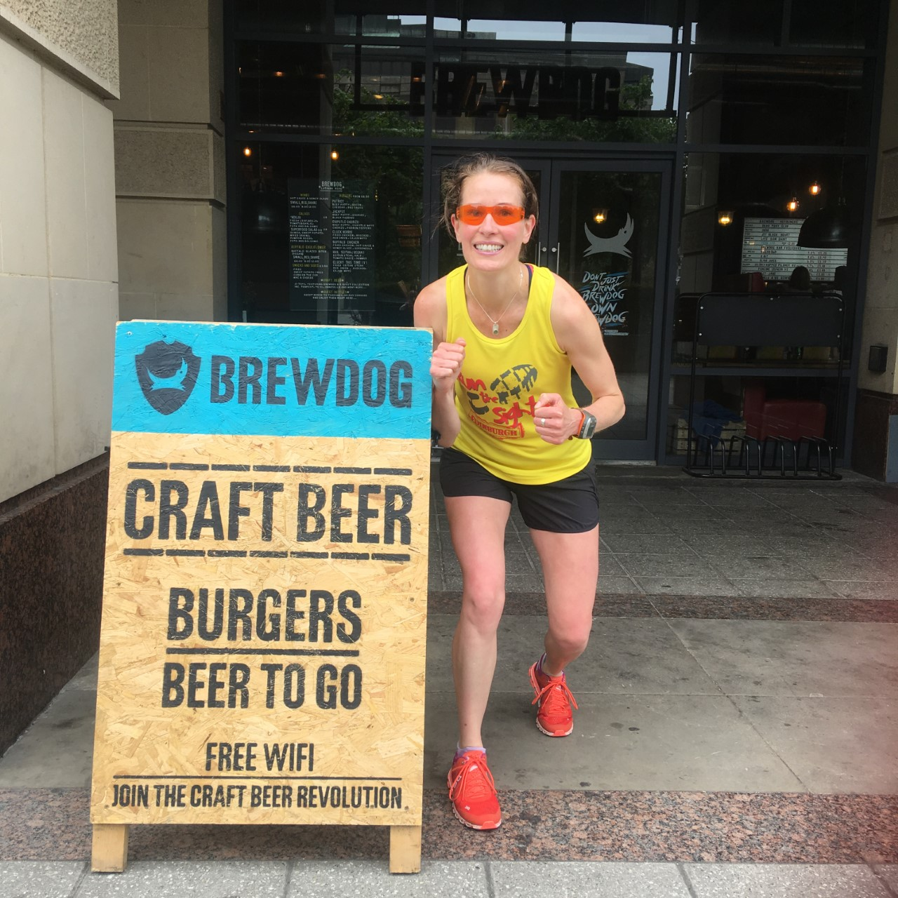 Craft Beer Running Tour