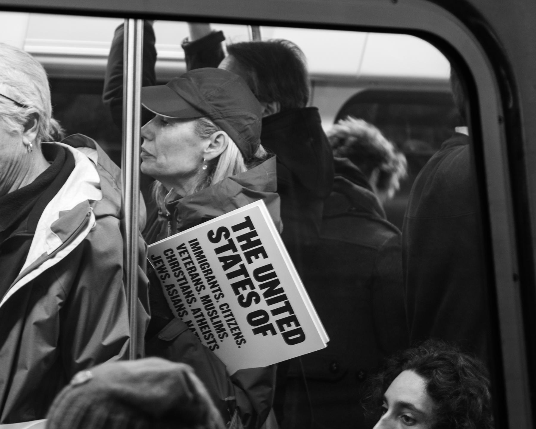 Womens March, Washington D.C., 1/21/17