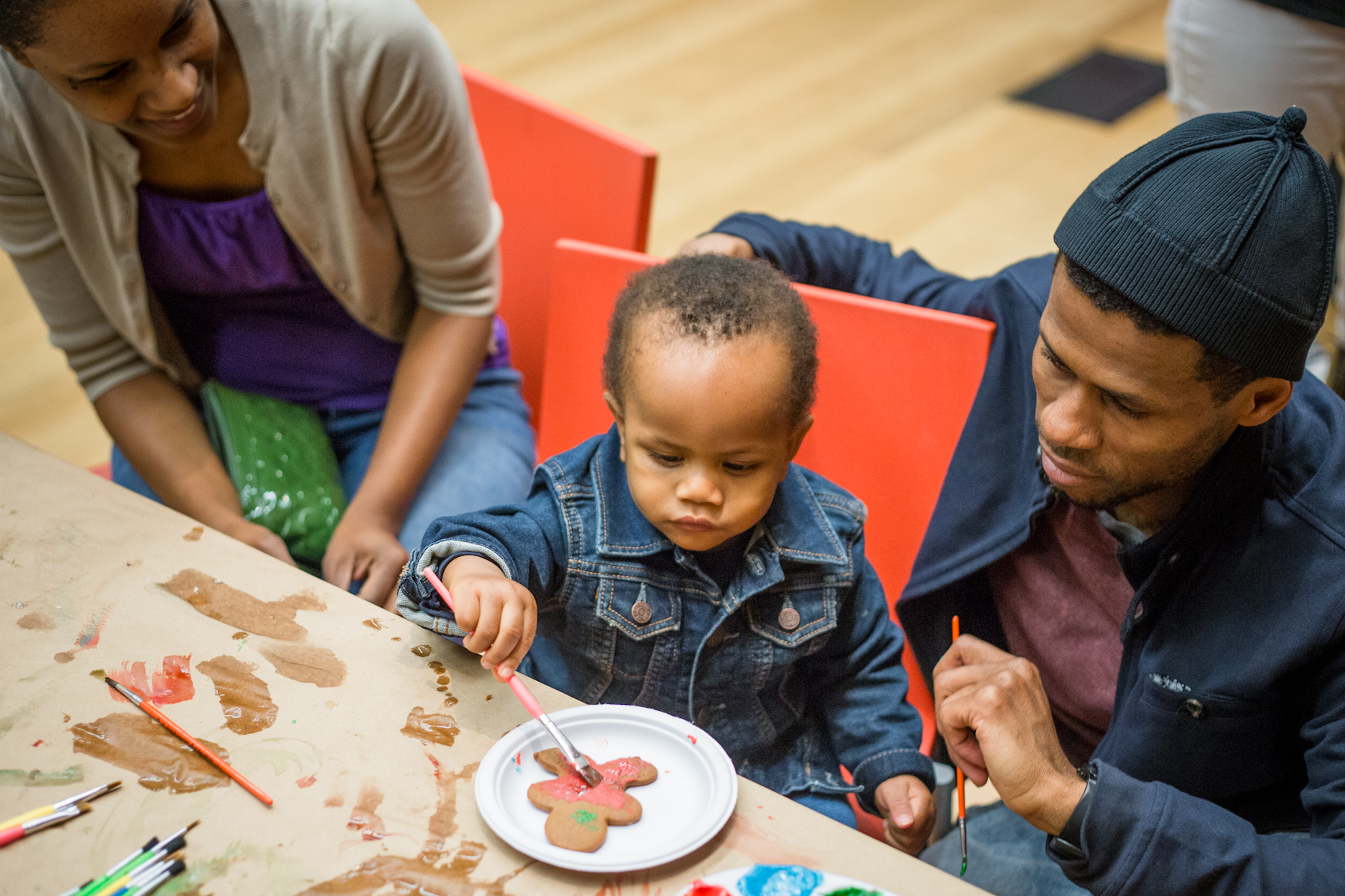 Family Holiday Party, The Barnes Foundation, 2016