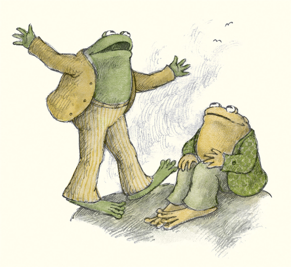 """""""Toad, I have to tell you about the most amazing infographic someone just DMed me!"""" exclaimed Frog."""
