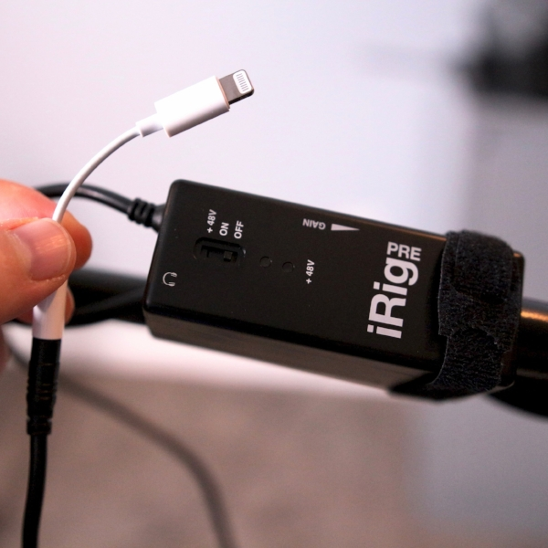 irig with adapter