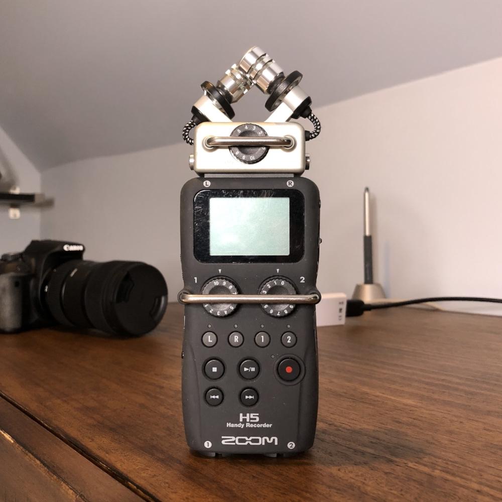 Zoom H5 audio recorder